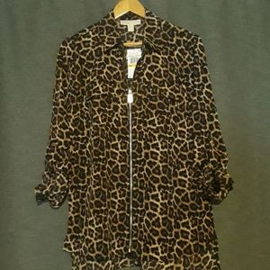 Brand new with tags Michael Kors blouse.